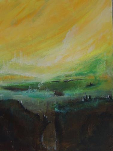 mimik, Zwischenwelt 2, Abstraktes, Fantasie, Land-Art