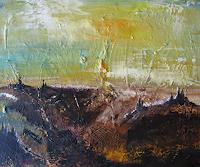 mimik-Abstraktes-Abstraktes-Gegenwartskunst--Land-Art