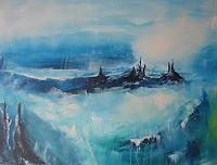 mimik-Abstraktes-Fantasie-Gegenwartskunst--Land-Art