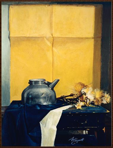 Lorenzo Antognetti, '' Composizione '' di Lorenzo Antognetti, Stilleben, Realismus