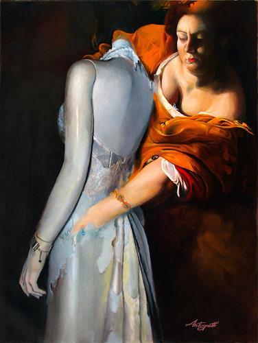 Lorenzo Antognetti, '' Trasformazione '' di  Lorenzo Antognetti, Symbol, Realismus, Abstrakter Expressionismus