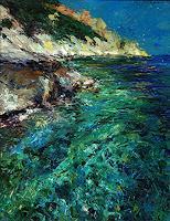 Lorenzo-Antognetti-Landschaft-See-Meer