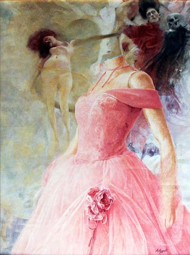 Lorenzo Antognetti, '' Venere''   di Lorenzo Antognetti, Symbol, Realismus, Abstrakter Expressionismus