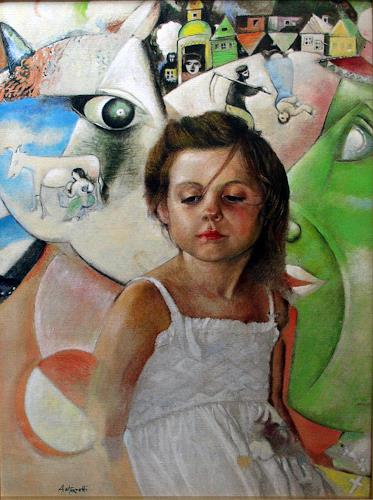 Lorenzo Antognetti, '' Nel sogno '' di Lorenzo Antognetti, Symbol, Realismus, Expressionismus