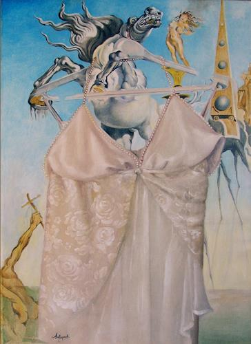 Lorenzo Antognetti, '' L'Attesa '' di Lorenzo Antognetti, Symbol, Realismus