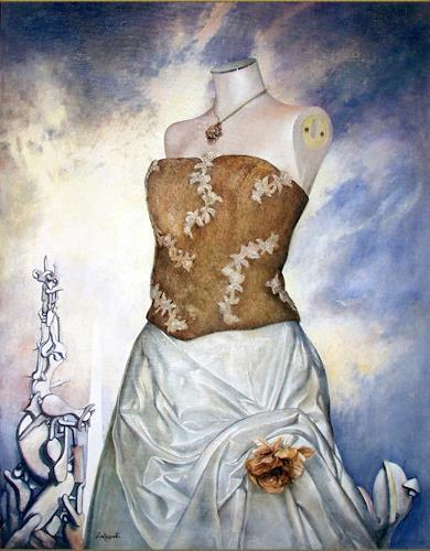 Lorenzo Antognetti, '' Asrto'' di Lorenzo Antognetti, Symbol, Realismus, Expressionismus