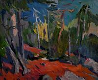 F. Brandner, Mountain Forest