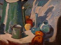 Franz-Brandner-Stilleben-Natur-Diverse-Moderne-Expressionismus-Fauvismus