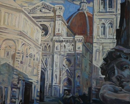Franz Brandner, Florenz, Diverse Landschaften, Diverse Bauten, Andere