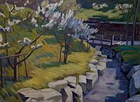 Franz Brandner, Spring garden