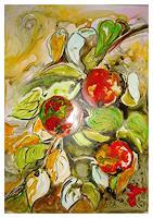 I. Schnöke, Zweig mit Früchten