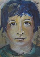 Ingeborg-Schnoeke-Menschen-Fantasie-Moderne-Abstrakte-Kunst