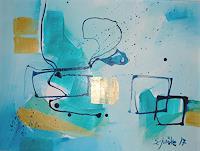 Ingeborg-Schnoeke-Fantasie-Moderne-Abstrakte-Kunst
