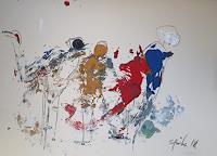 Ingeborg-Schnoeke-Menschen-Gruppe-Moderne-Abstrakte-Kunst
