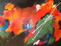 Ingeborg-Schnoeke-Abstraktes-Fantasie-Moderne-Abstrakte-Kunst