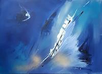 Ingeborg-Schnoeke-Fantasie-Natur-Wasser-Moderne-Abstrakte-Kunst