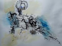 Ingeborg-Schnoeke-Abstraktes-Poesie-Moderne-Abstrakte-Kunst
