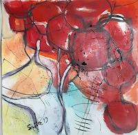 Ingeborg-Schnoeke-Gefuehle-Freude-Moderne-Abstrakte-Kunst