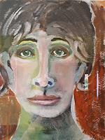 Ingeborg-Schnoeke-Menschen-Menschen-Moderne-Abstrakte-Kunst