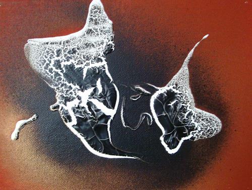 Ingeborg Schnöke, ich mag dich..., Skurril, Abstrakte Kunst, Expressionismus