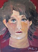 Ingeborg-Schnoeke-Menschen-Gesichter-Moderne-Abstrakte-Kunst
