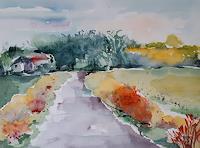 Ingeborg-Schnoeke-Landschaft-Moderne-Abstrakte-Kunst