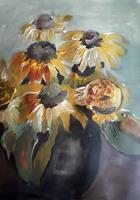 Ingeborg-Schnoeke-Pflanzen-Moderne-Abstrakte-Kunst
