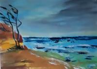 Ingeborg-Schnoeke-Natur-Landschaft-Moderne-Abstrakte-Kunst
