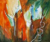 Ingeborg-Schnoeke-Abstraktes-Gefuehle-Moderne-Abstrakte-Kunst