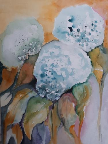 Ingeborg Schnöke, Annabell, Pflanzen: Blumen, Abstrakte Kunst, Expressionismus