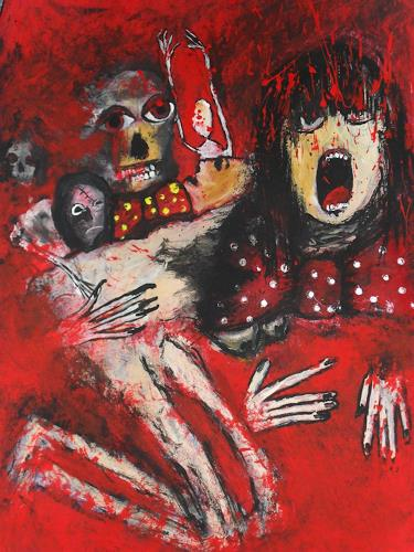 Despina Papadopoulou, -No Nein OXI -, Gesellschaft, Expressionismus