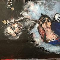 Despina-Papadopoulou-Menschen-Frau-Tod-Krankheit-Moderne-expressiver-Realismus