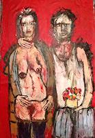 Despina-Papadopoulou-Tod-Krankheit-Poesie-Moderne-Expressionismus-Der-Blaue-Reiter