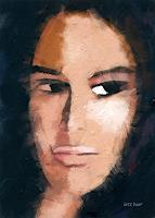 Lutz-Baar-Menschen-Frau-Menschen-Gesichter-Gegenwartskunst--Gegenwartskunst-
