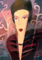 Lutz-Baar-Menschen-Frau-Fashion-Moderne-Art-Deco