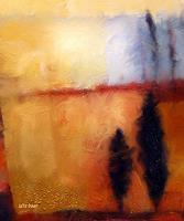 Lutz-Baar-Abstraktes-Landschaft-Herbst-Gegenwartskunst--Neo-Expressionismus