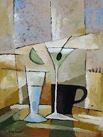 Lutz-Baar-Abstraktes-Stilleben-Moderne-Kubismus
