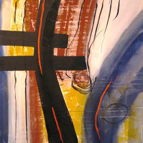 michael oberlik, o.t. (saarbrücken), Abstraktes, Informel
