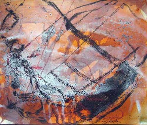 michael oberlik, B07 - 7, Abstraktes, Abstrakte Kunst