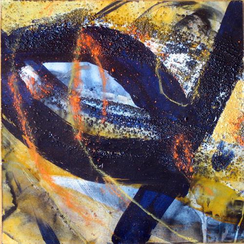 michael oberlik, 30x30 - A, Abstraktes, Informel