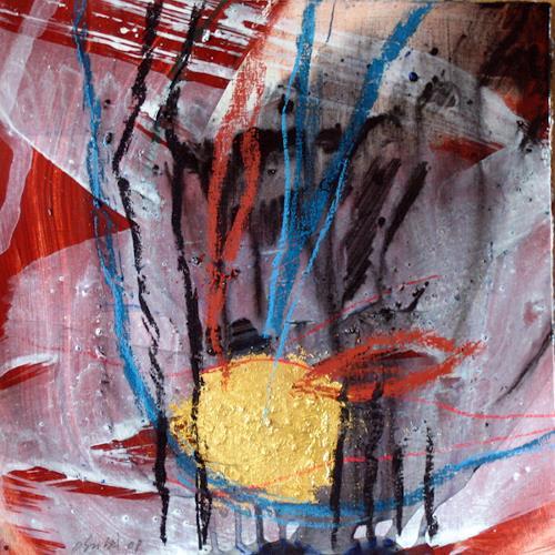 michael oberlik, 30x30 - B, Abstraktes, Abstrakter Expressionismus