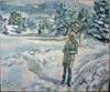 Heini Andermatt, Hieronymus nach Antonella da Messina, Religion, Architektur, expressiver Realismus