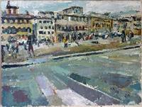 H. Andermatt, Florenz, Piazza dei Pitti