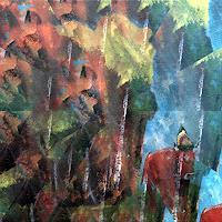 Walter-Lehmann-Tiere-Land-Moderne-Expressionismus