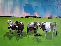 Walter-Lehmann-Tiere-Land-Moderne-Abstrakte-Kunst
