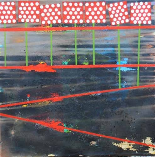 Walter Lehmann, Bergweg, Landschaft, Abstrakte Kunst