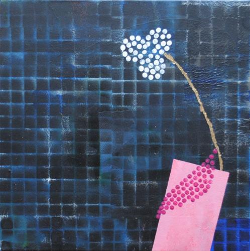 Walter Lehmann, Die Vase, Pflanzen: Blumen, Moderne