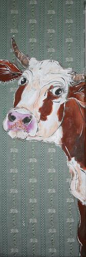 Regula Kummer, Kuh, Ohlala/Cow, Olala, Tiere: Land, Gegenwartskunst