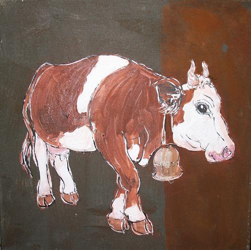 Regula Kummer, Kuh, Paloma/Cow, Paloma, Tiere: Land, Gegenwartskunst