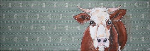Regula Kummer, Kuh, Patty/ Cow, Patty, Tiere: Land, Gegenwartskunst